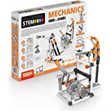 Engino Discovering STEM Mechanics Cams & Cranks   8 Working Models   Illustrated Instruction Manual   Theory & Facts   Experimental Activities   STEM Construction Kit