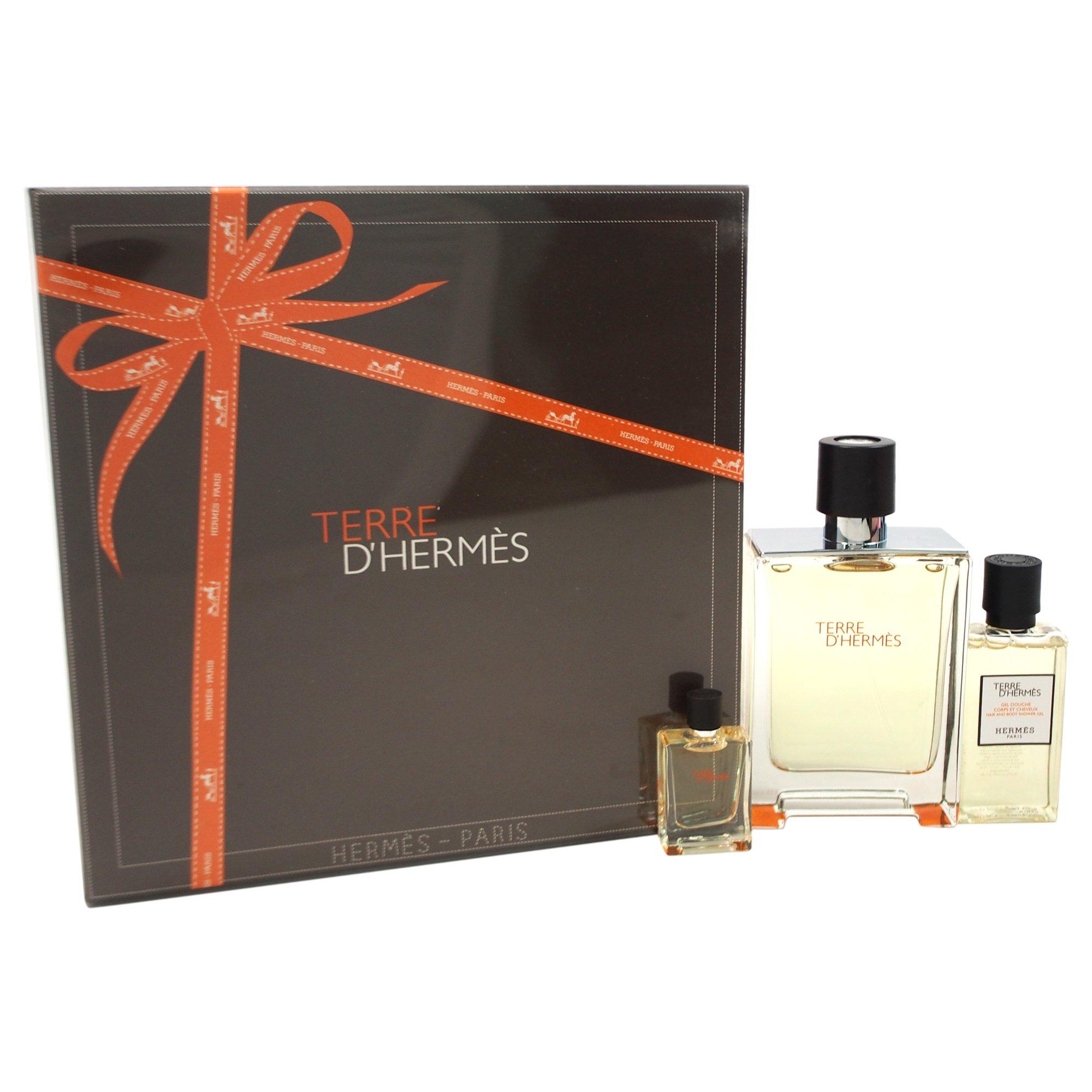 Hermes Terre D'hermes 3 Piece Gift Set for Men