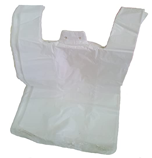 Bolsas de plastico tipo camiseta 40x50 - 2000 unidades ...