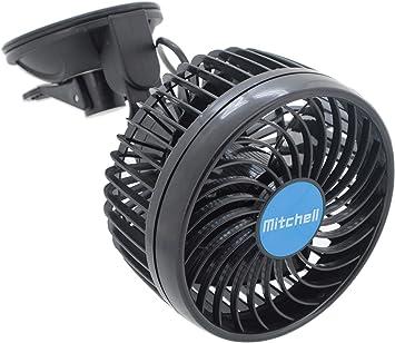 Compass 07216 Ventilador Mitchell 12 V con el ventosa: Amazon.es ...