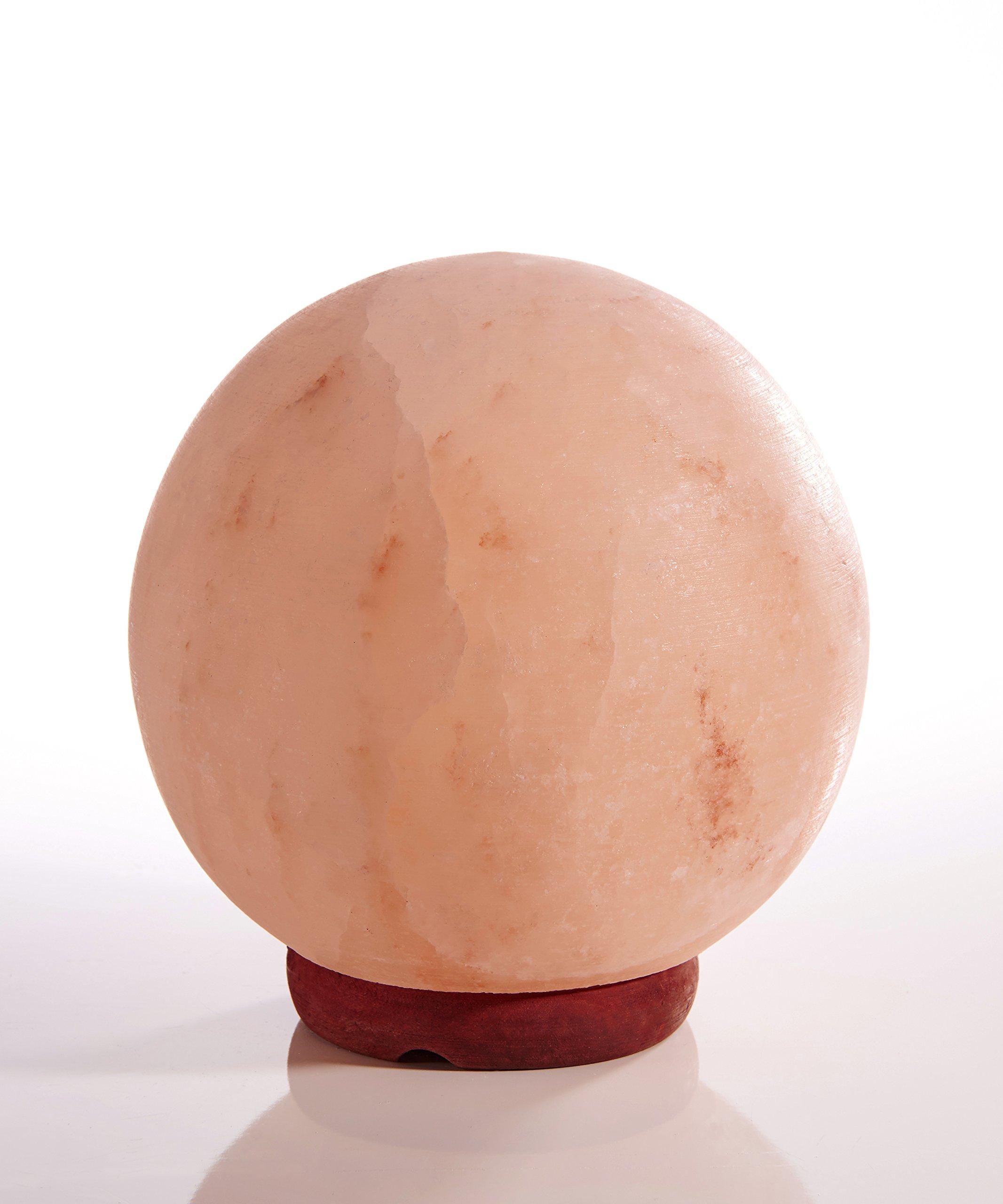 Earth Luxe Himalayan Salt Rock Lamp- Sphere