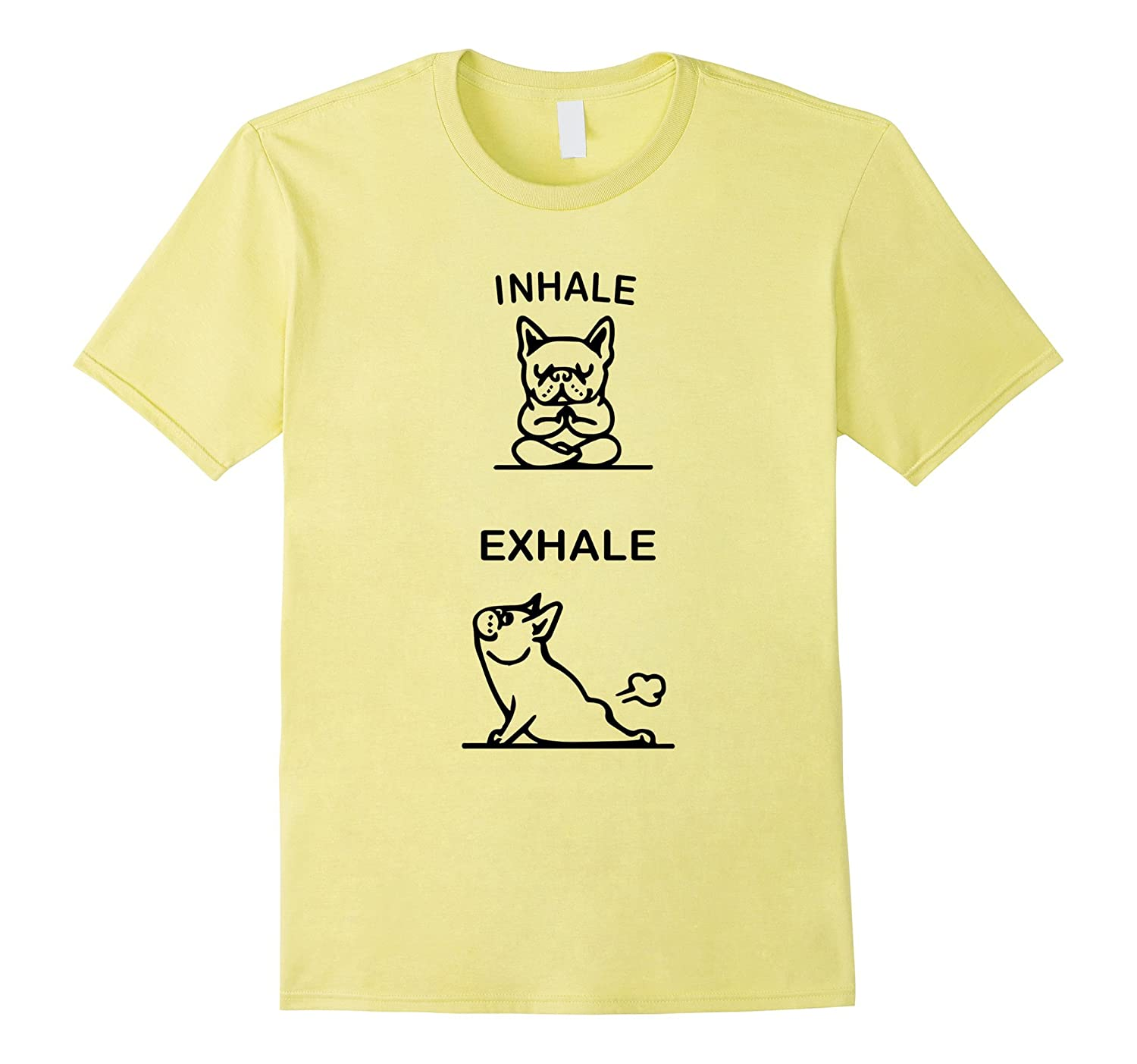 Funny Inhale Exhale Yoga T-shirt