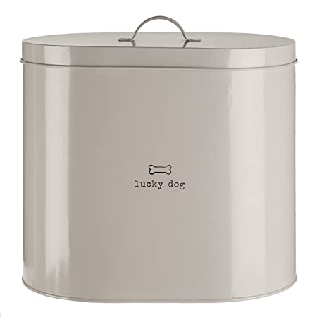 Premier Housewares Adore Pets Lucky Dog Food Storage Bin With Spoon