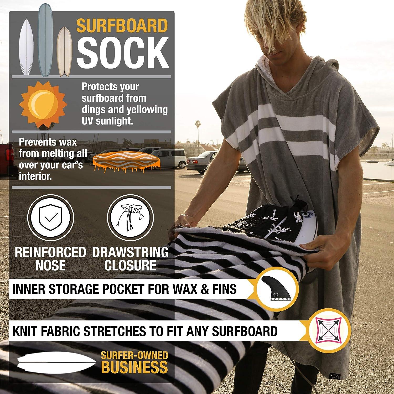 Funda Protectora para Tabla de Surf - Bolsa Protectora Ligera para tu Tabla de Surf [Elegir tamaño y Color]: Amazon.es: Deportes y aire libre