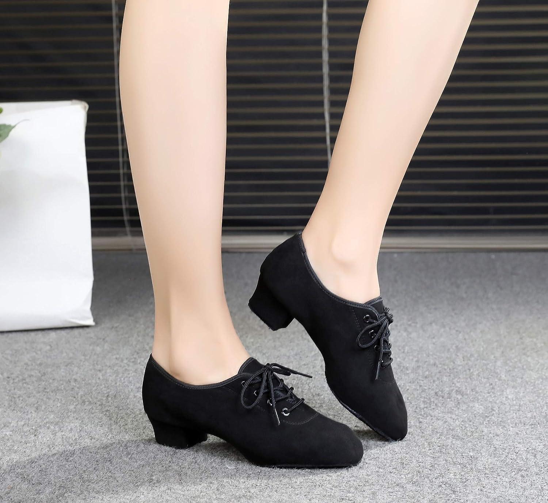 HIPPOSEUS Dance Shoes for Boys Ballroom Latin Jazz Modern Dance Shoes Soft Outsole,Model TL-Boy