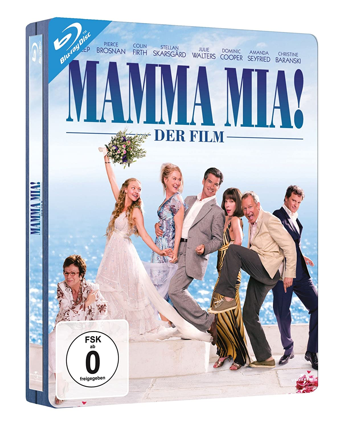 Mamma Mia! - Der Film - Steelbook Alemania Blu-ray: Amazon.es ...
