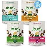 JOJO's Dark Chocolate Bites Made with Hemp, Plant Based Protein, Low Sugar, Low Carb, Vegan, Paleo & Keto Friendly, Healthy S
