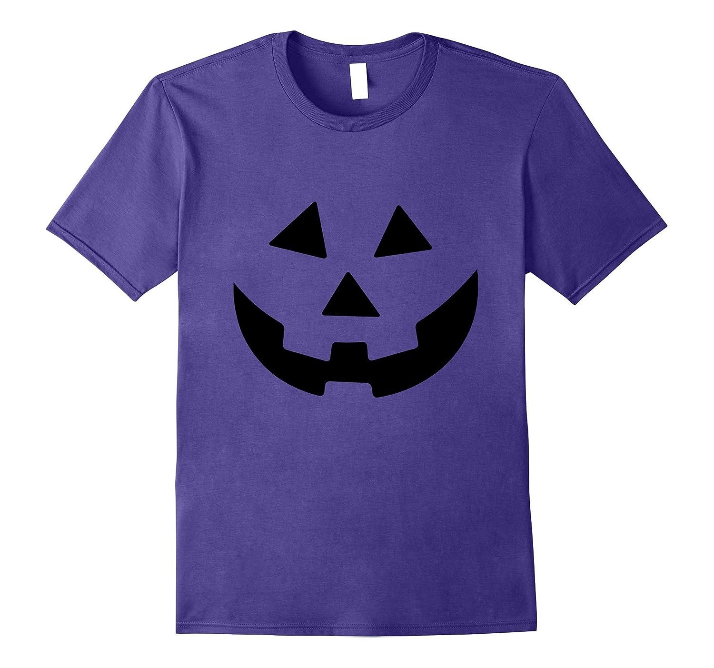 Orange Jack-O-Lantern T-Shirt - Funny Halloween Pumpkin-FL
