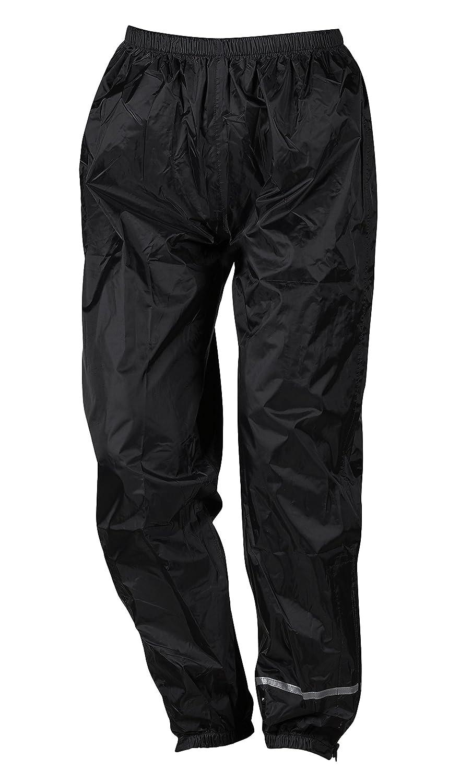 NERVE 1012020404_05 Pantaloni Antipioggia Easy, Nero, XL KangQi