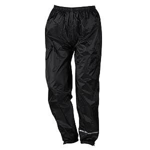 Nerve Easy Pantalon de Pluie, Noir, M