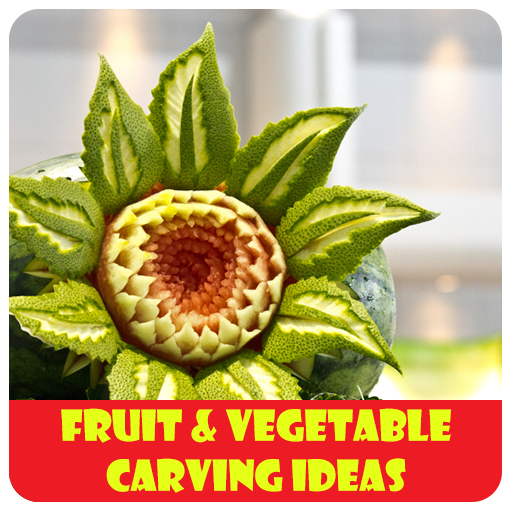 Fruit & Vegetable carving ideas ( Best for Dinning) -