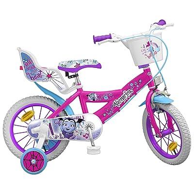 TOIMSA 913 Vampirina - Bicicleta de 12 Pulgadas: Juguetes y juegos