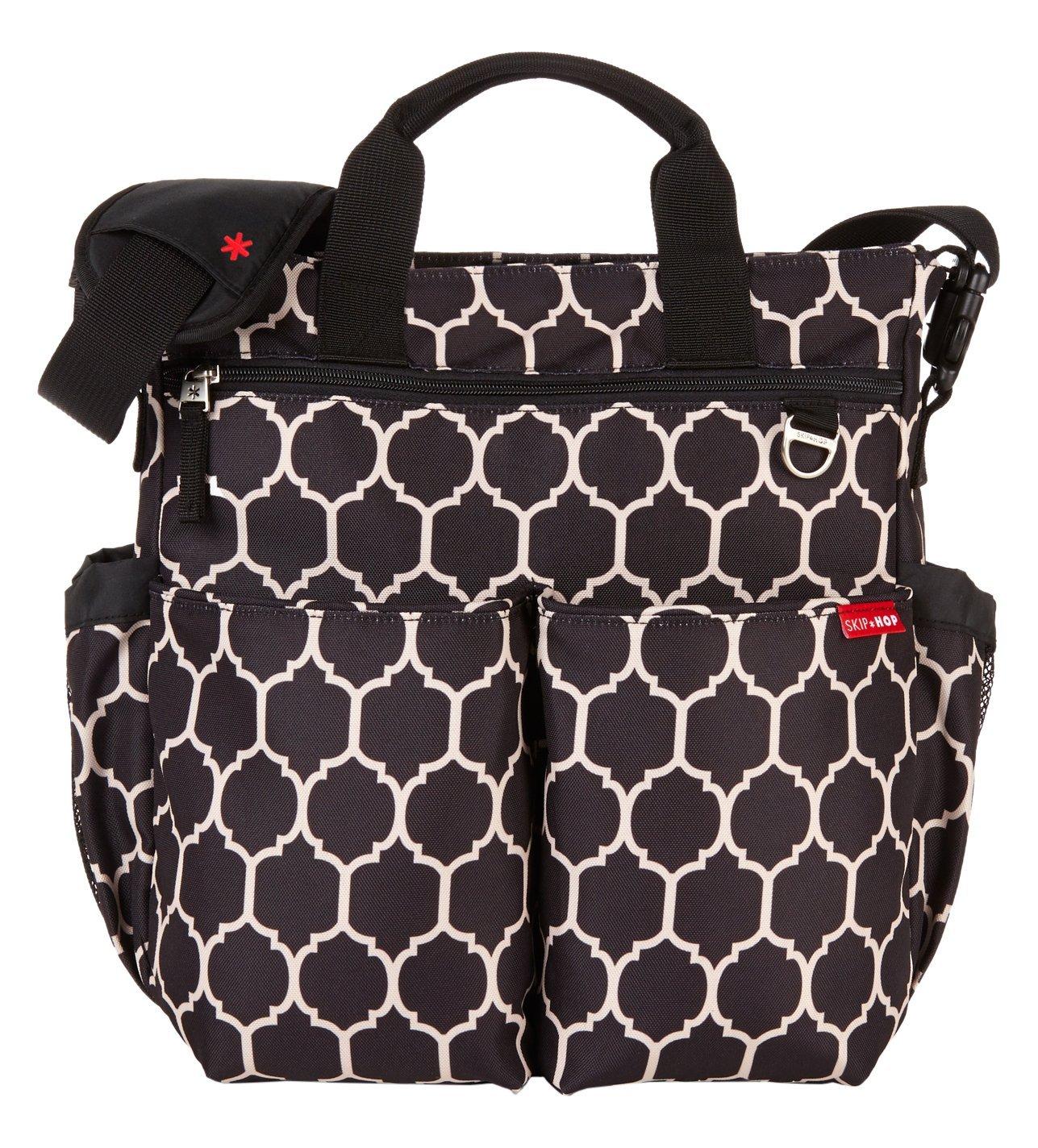 Skip Hop Duo Signature Diaper Bag Onyx Tile 18