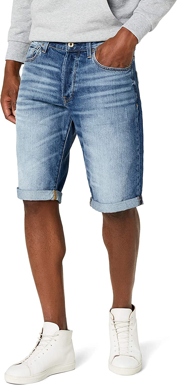 G-STAR RAW 3301 1/2 Pantalones Cortos para Hombre