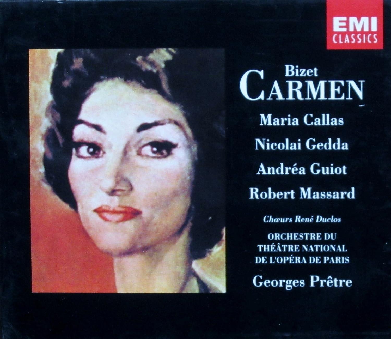 Carmen Callas : Georges Bizet, Georges Prêtre: Amazon.fr: Musique