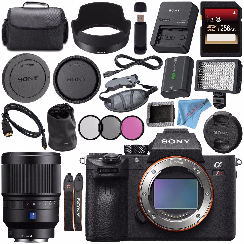 Sony Ilce7rm3 B Alpha A7r Iii Mirrorless Digital Camera Body Only Distagon T Fe 35mm F 14 Za Lens