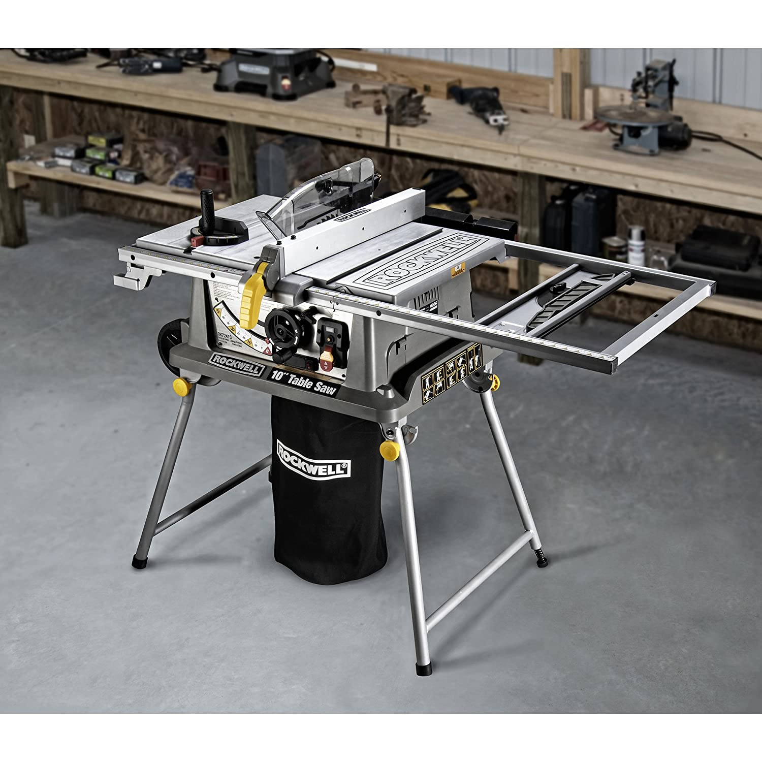 Rockwell rk7241s table saw with laser power table saws amazon greentooth Images