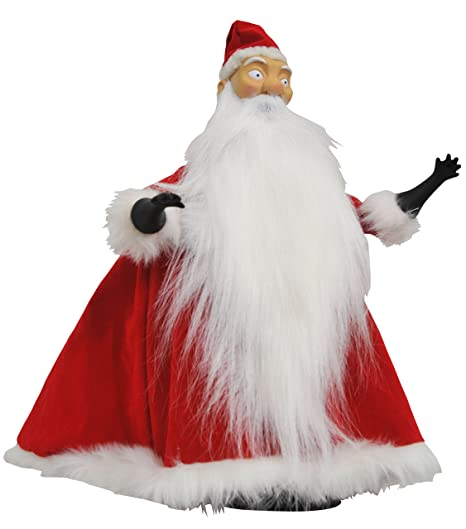 diamond select toys the nightmare before christmas santa deluxe cloth doll - Nightmare Before Christmas Santa Hat