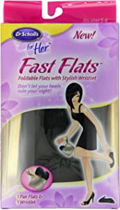 Dr. Scholl's Fast Flats, fits sizes 5-6
