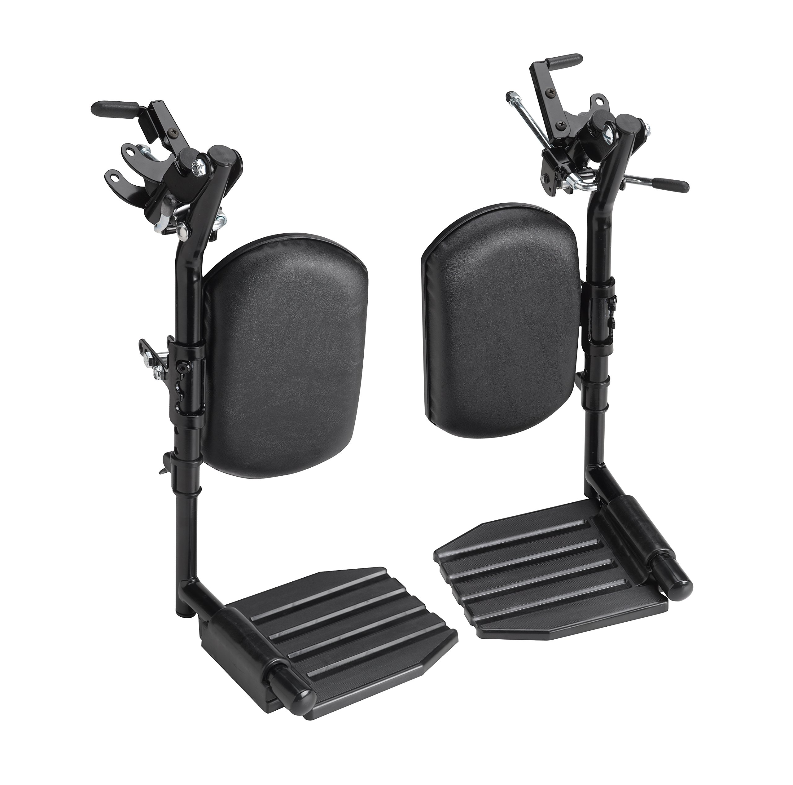 Invacare T94HCP T94HC Elevating Leg Rest with Composite Footplates and Padded Calf Pads