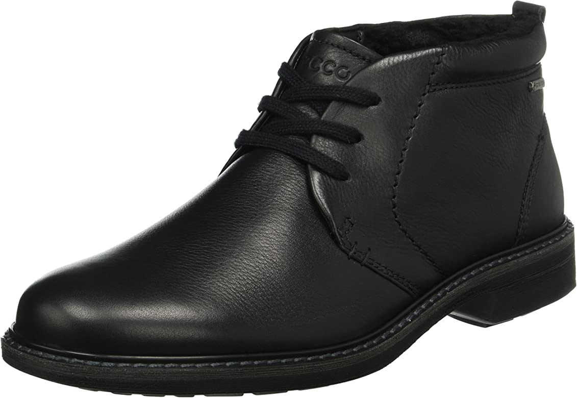 ECCO Men's Turn Ankle Boots, Black