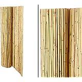 Bambusmatte Bali, extrem stabil, 150 x 300 cm, mit Draht durchbohrt und verbunden