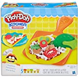 Play-Doh - Kitchen Creations - Pizza Party inc 5 Tubs & Accessories - Creative Kids Toys - Ages 3+