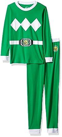 Amazon.com  Power Rangers Saban Mighty Morphin Green  Costume Cotton ... cfdf0d144