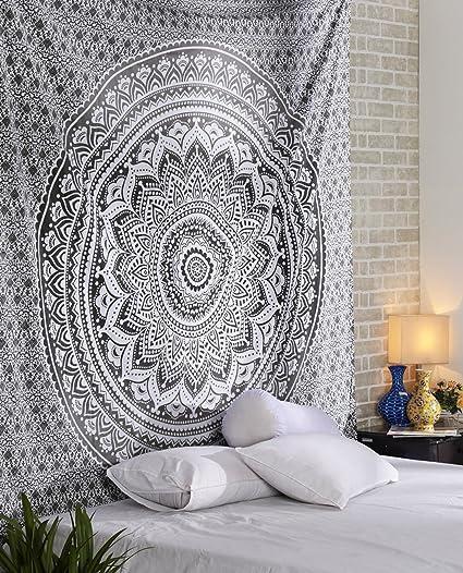 Arazzo Indiano Mandala Hippie decorazione da parete per camera dei bambini,  soggiorno, camera da letto ,anche come tappetino da yoga, coperta da ...