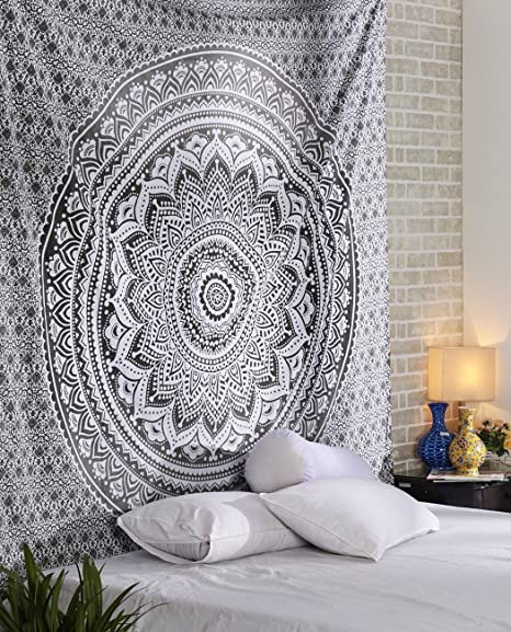 Pared Indian Mandala Wall Hanging hippie Tapestry Decoración de pared para habitación de los Niños Salón