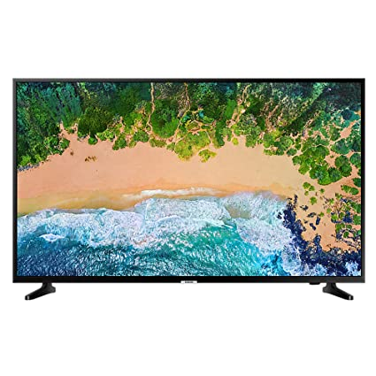 a4267aa89ee Samsung UE50NU7020 50 Inch 4K Ultra HD Smart LED TV in  Amazon.co.uk   Electronics