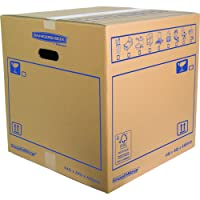 Bankers Box 44.6 x 44.6 x 44.6 cm Smooth Move Double Walled Moving Box (Pack of 10)