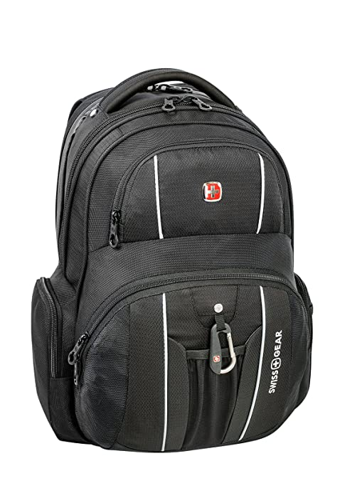 3bbdfa76df Swiss Gear Under Seat Size Rainproof Backpack for Laptop - Holds Up to  17.3-Inch Laptop