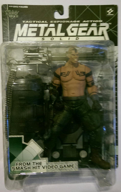 McFarlane Toys engranaje del metal de la tapa (Metal Gear Solid) Figura 6 pulgadas / VULCAN CUERVO