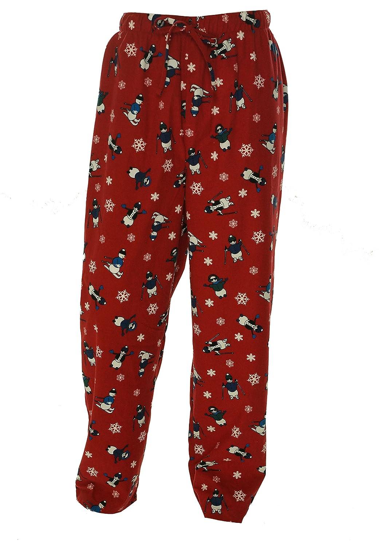 Club Room Mens Printed Tie Waist Pajama Bottoms