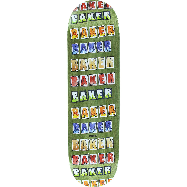ベイカーDee Colored Pencilスケートdeck-8.47 W/Mob Grip   B07CVX64S8, marca-shop 1283be96