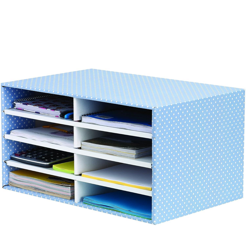 Bankers Box - Organizer da scrivania in 100% cartone riciclato blu/bianco Fellowes GmbH 4482501