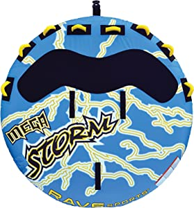 RAVE Mega Storm Inflatable 1-4 Rider Towable Tube