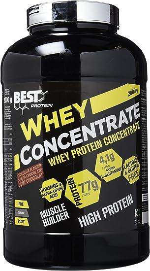 Best Protein Whey - Proteína en polvo, sabor chocolate - 2000 gr