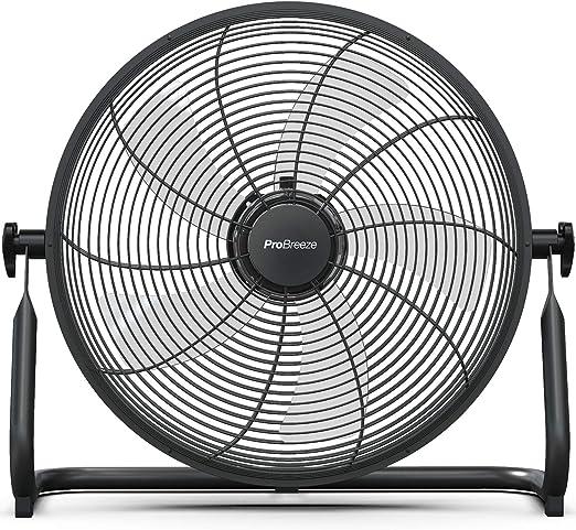 Pro Breeze Ventilador de Piso Recargable de 40cm: Duración de la ...