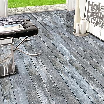 Gut gemocht MINRAN DECOR J 3D Holz Aufkleber Selbstklebende Bodenbelag HO03