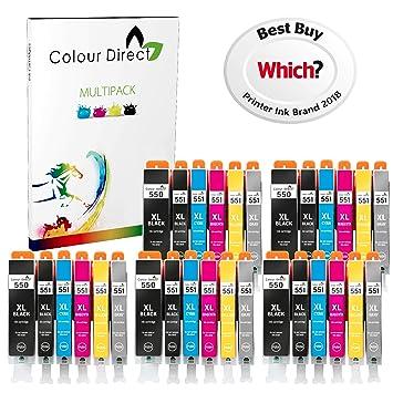 30 XL Colour Direct Compatible cartuchos de tinta Reemplazo para ...