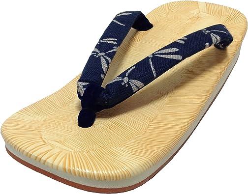 Dyed Thong. Rush Grass Amezoko Rubber Sole Edoten Made in Japan Setta Sandals