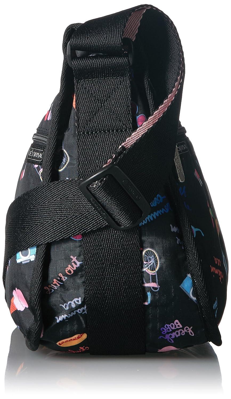 LeSportsac kvinnors klassiska hobbyhandväska klassisk hobo handväska Hight Tide