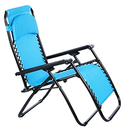 amazon com yuebo chaise lounge chair outdoor patio folding