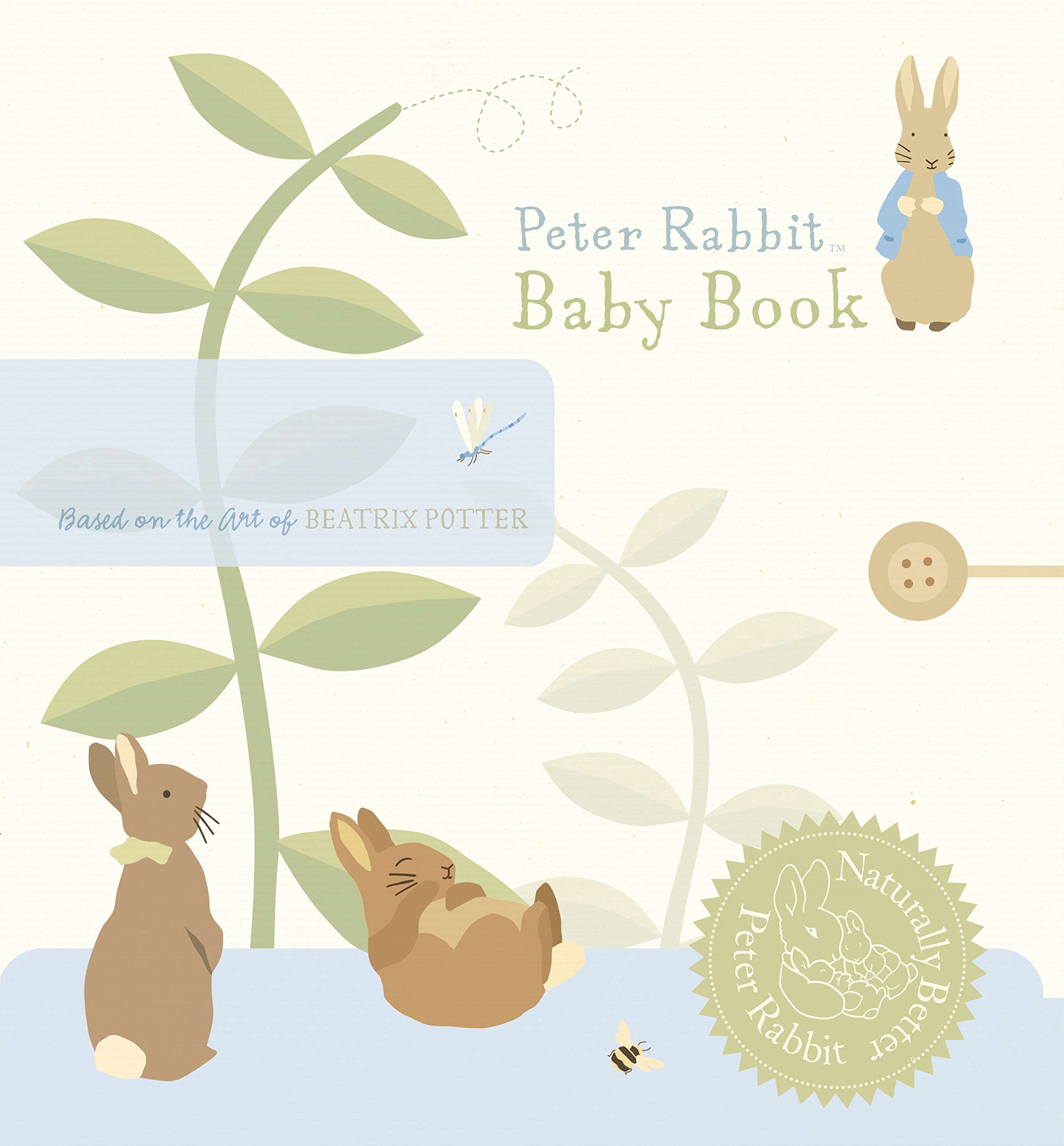 Peter Rabbit Baby Book (Peter Rabbit Naturally Better)
