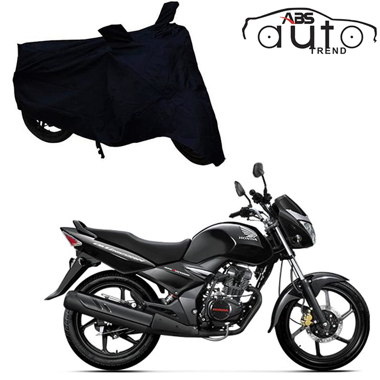 Abs Auto Trend Bike Body Cover For Honda Cb Unicorn 160 Black