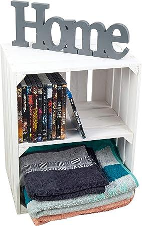 Hecho Por kistenkolli altes LAND,ideal para su nueva Zapatos,Libros o estante de almacenaje,Medidas