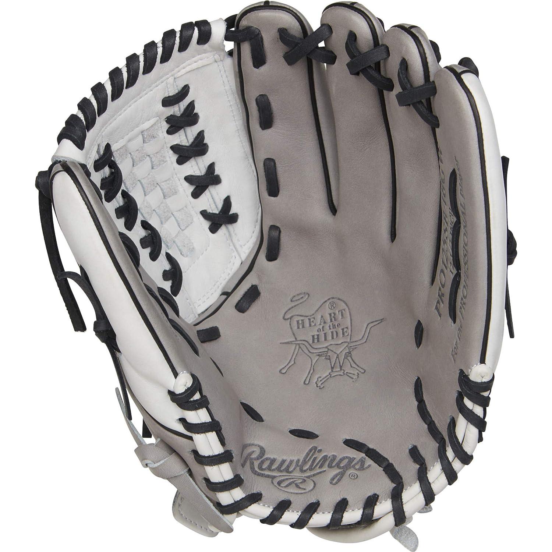 Rawlings Heart The Hide 12.5 Inch PRO125SB-18GW Fastpitch Softball Glove Gray Size 12.5 Sportsman Supply Inc.