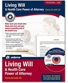 Amazon com : Adams Power of Attorney Forms Pack, Includes Forms and
